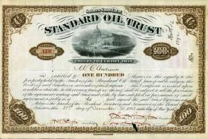 Stock Certificate Standard Oil 1